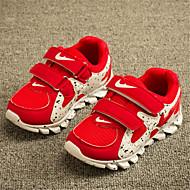 ( Svart/Blå/Rød ) Komfort/Lukket tå - Trendy sneakers - Fuskelær/Tyll - GIRL