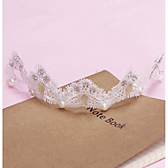 Women's Lace/Rhinestone Headpiece - Wedding/Special Occasion Headbands 1 Piece