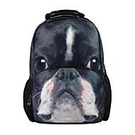 Whosepet Unisex Animal/Dog Face Felt Shoulder Bag/Backpack/Travel Bags