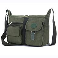 Men Nylon Casual / Outdoor Satchel Purple / Green / Gray / Black