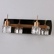 Crystal/Bulb Included Bathroom Lighting , Modern/Contemporary G4 Metal