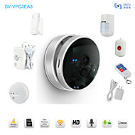 Snov 720P Wireless Nightvision IP Camera Home & Business Cube IP Camera Alarm, Security IP Camera Alarm, CMS & APP