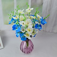 Modern Silk Orchids Flowers 2 Bundles/Lot for Decoration