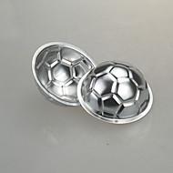 Football Soccer Cake Mold Baking Jelly DIY Non-toxic Chocolate Pan Aluminum Birthday Cake Mould