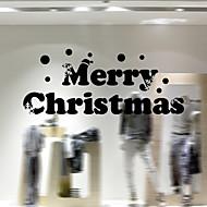 Okno samolepky Samolepky na okno ve stylu nové vánoční okenní sklo dekorace pvc samolepky