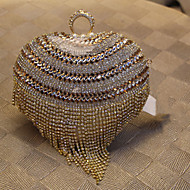 Women Metal Formal / Event/Party / Wedding / Professioanl Use Evening Bag Gold / Silver / Black