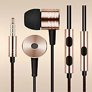 למשוך אוזניות אוזניות באוזן 3.5mm חוט הסיבים לסמסונג וטלפונים andriod אחרים (צבע שונים)