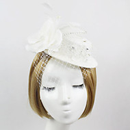 Women's Satin/Net Headpiece - Wedding/Special Occasion Birdcage Veils 1 Piece