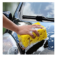 Mini Yellow Car Auto Washing Cleaning Sponge Block