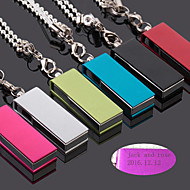 Uso de oficina(Rojo / Blanco / Verde / Azul / Negro) -Tema Clásico-Personalizado 3.5*1.3*0.65cm Aleación de zinc