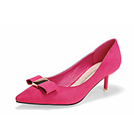 Women's Shoes Kitten Heel Heels/Pointed Toe/Closed Toe Heels Dress Black/Red/Animal Print