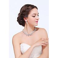 Smykker Set Dame Sølv / Legering Rhinestone