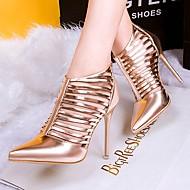 נעלי נשים - בלרינה\עקבים - עור פטנט - עקבים / שפיץ - שחור / ורוד / כסוף / זהב - חתונה / שמלה / מסיבה וערב - עקב סטילטו
