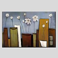 dipinti ad olio stile del fiore, materiale tela con struttura allungata pronta per essere appesa formato: 60 * 90cm.