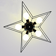 Brief Five-Pointed Star Lighting Personalized  Modern Ceiling Light Child Housing Lamps