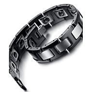 Herre Titanium Kæde Armbånd Ikke-sten
