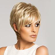 High Quality Capless Virgin Remy Short Straight Mono Top  Human Hair Wigs