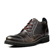 Men's Shoes Work & Duty / Casual Leather Boots Black / Brown