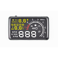New 5.5'' X3 Car HUD Head Up Display KM/h MPH Speed Warning OBD2 Interface Windshield Bluetooth Function to Phone PC