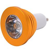 5W E14 / GU10 / E26/E27 Spot LED MR16 1 LED Haute Puissance 300 lm RGB Gradable / Commandée à Distance AC 85-265 V 1 pièce