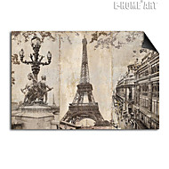 E-HOME® Magnetic Print Replaceable Art European Architecture Decorative Painting Multi Style Optional