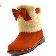 MEISJE - Snowboots - Laarzen ( Roze / Oranje )