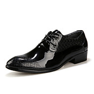 Men's Shoes Casual/Party & Evening/Office & Career Fashion PU Leather Oxfords Shoes Black