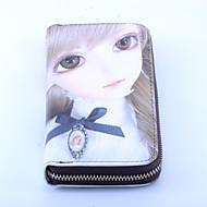 Δίπτυχο - Τσάντα Φάκελος / Πορτοφόλι / Θήκη για κάρτα & ταυτότητα / Πορτοφόλι με μπλοκ επιταγών / Κλιπ για χαρτονομίσματα - Γυναικείο -