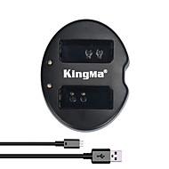kingma® dual slot usb lader voor Canon LP-E10 batterij voor Canon Rebel T3 T5 EOS 1100D 1200D kus x50 camera