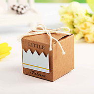 Baby Shower Party Favor Boxes Candy Box Wedding Favor Box Candy Box  (Set of 12)