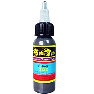 Solong Tattoo New Pigment Solong Ink Silver Color 1oz 30ml/Bottle