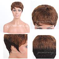 Premierwigs Wholesale Double Tone Curly Capless Brazilian Virgin Human Hair Wigs For Black Women