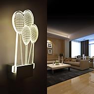 Acrylic Wall Lamp PVC Lamp Light  LED / Bulb Included Modern/Contemporary Metal 220V  5㎡-10㎡  L15.5*H26.5*W5CM