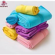 Tuch Handtücher Haustiere Pflegezubehör Tragbar Cosplay Purpur Gelb Blau Rosa