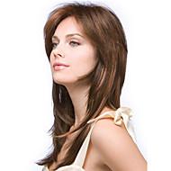 nytt mode lady popularnylon hög temperatur siden långt rakt hår peruk kan vara mycket varmt kan färgas färgbild