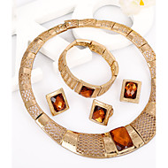 WesternRain Women's Alloy / Rhinestone Jewelry Set Rhinestone