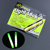 10pcs מקל זוהר לצוף אור ניאון לילה דיג lightstick 4.5 * כלים דיג באיכות גבוהה 39 מ''מ