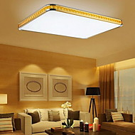 Putian™  32W Flush Mounte LED Light Modern Golden Acrylic with Light Ajustable