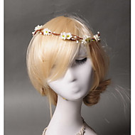 Women's / Flower Girl's Alloy / Fabric Headpiece - Wedding / Special Occasion / Casual Wreaths 1 Piece