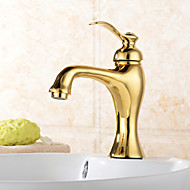 Bathroom Sink Faucet with Ti-PVD finish faucet