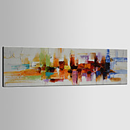 Hand-Painted Abstract 100% Hang-Painted Oil Painting,Traditional / Classic / Modern One Panel Canvas Oil Painting For Home Decoration