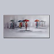 Ručně malované FantazieModerní Jeden panel Plátno Hang-malované olejomalba For Home dekorace