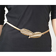 Dámské Tělové ozdoby Tělo Chain / Belly Chain Slitina Jedinečný design Módní Leaf Shape Šperky Barva obrazovky Šperky Ležérní 1ks