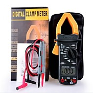 Digital LCD Clamp Multimeter Voltage AC DC Resistance Capacitance Tester