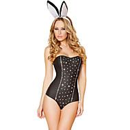 Women's Rhinestone Bunny Costume