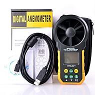hyelec ms6252b monitoiminen digitaalinen tuulimittari / ilmamäärä / temperatur / kosteus