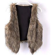 Damer Overtøj Imiteret pels