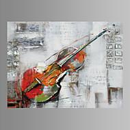 Música Impresión de la lona Un Panel Listo para colgar , Horizontal