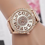 Women's Watch L.WEST Fashion Diamonds Steel Band Quartz Watch Cool Watches Unique Watches