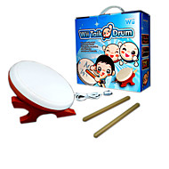 High Sensitivity Drum Set for Nintendo Wii Remote Controller Taiko No Tatsujin Video Games